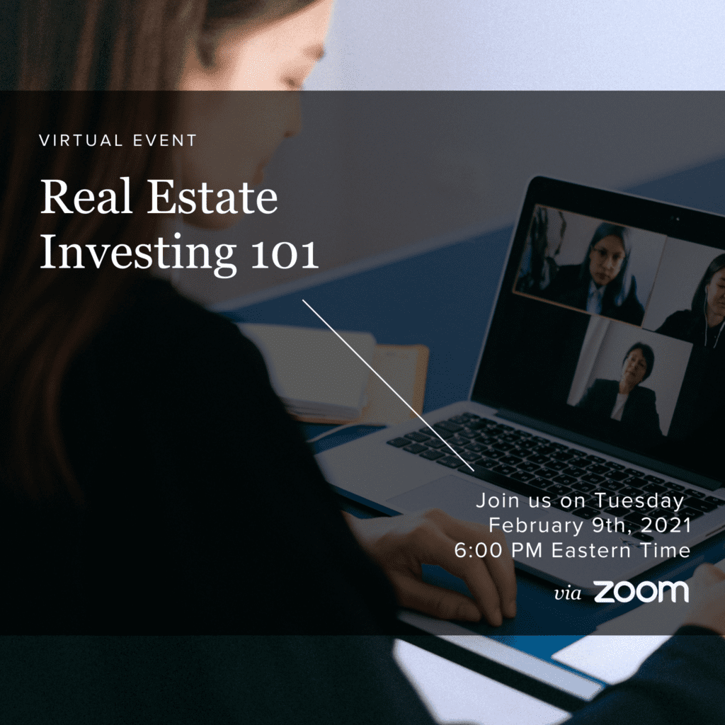 Real Estate Investing Seminar February 9th